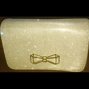 11947f5804 Ted Baker Bags - BRAND NEW TED BAKER CLUTCH, GOLD SPARKLE